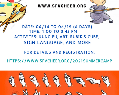 CHEER Summer Camp for Fun