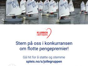 Stem på Jollegruppen i konkurransen om flotte pengepremier!