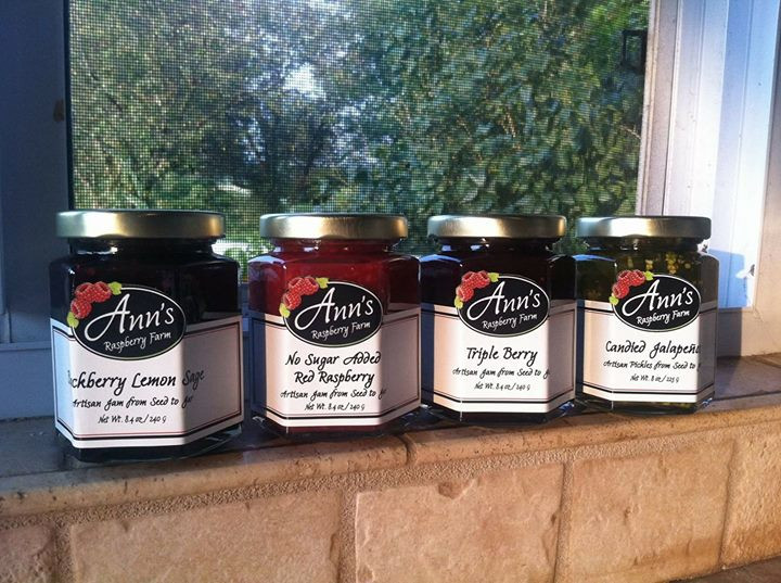 New Products: Triple Berry Jam, Candied Jalapenos, Blackberry Lemon and Sage Jam, and No Sugar Added Red Raspberry Jam