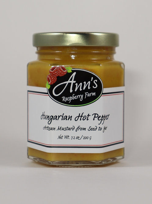 Hungarian Hot Pepper Artisan Mustard