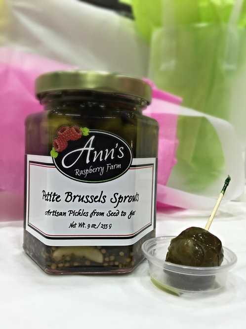 Petite Brussels Sprouts Artisan Pickles