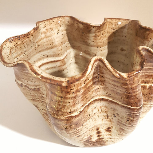 Sea sculpture bowl (or planter)
