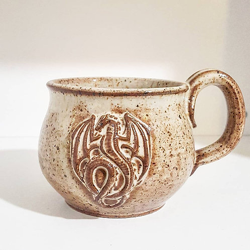 Sandstone Dragon mug