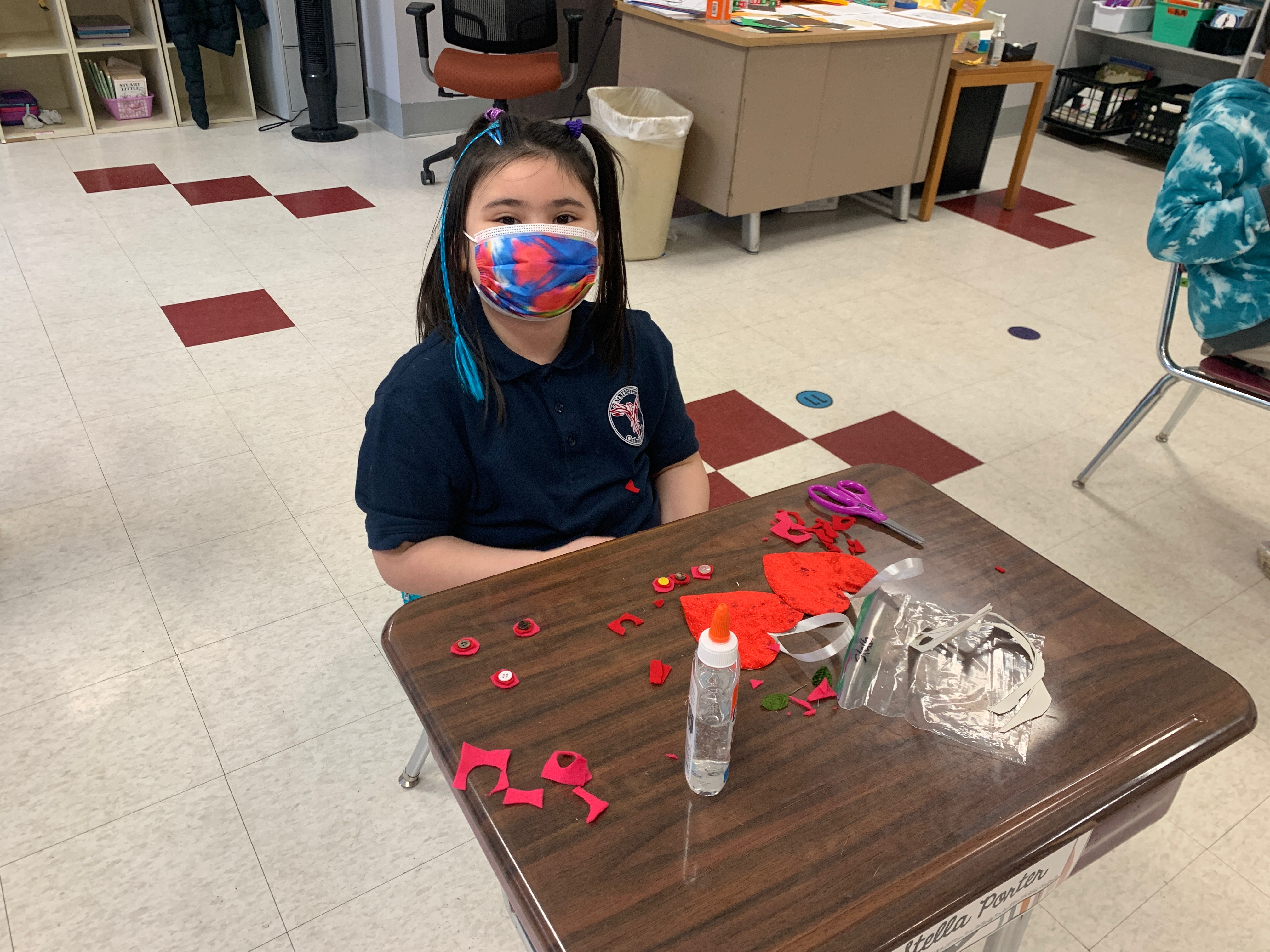 Valentine's Day crafts in 3rd grade