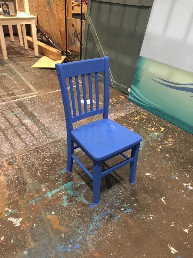 Cafe chair progress