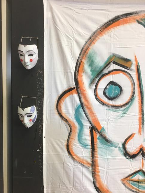 Portrait and Masks