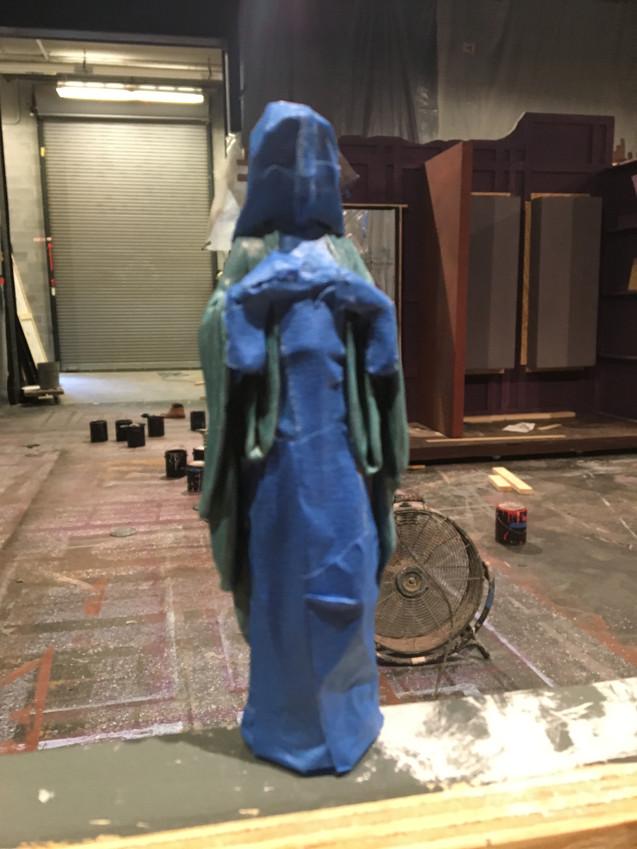 West Side Story statuette progress