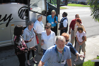 Guests arriving off the bus.jpg