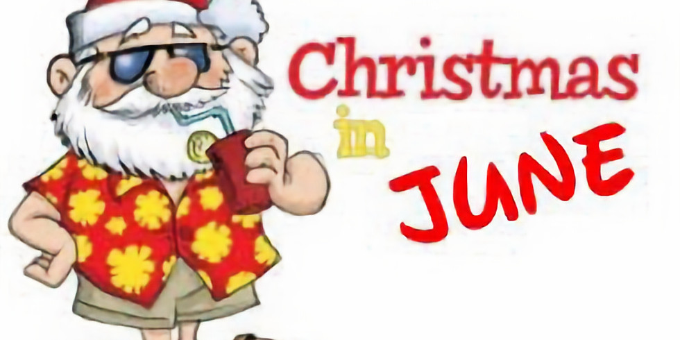 Christmas in June Potluck Dinner and Silent Auction