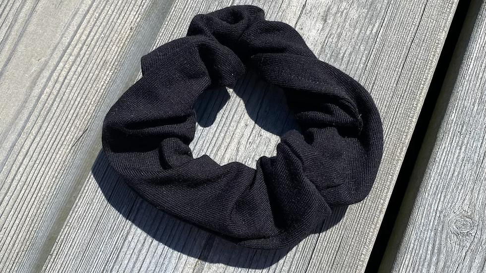 Scrunchie svart