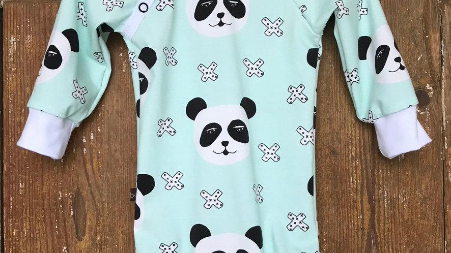 Body mintgrön panda