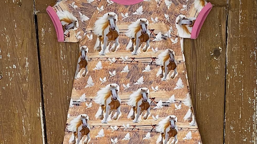 Klänning hästar