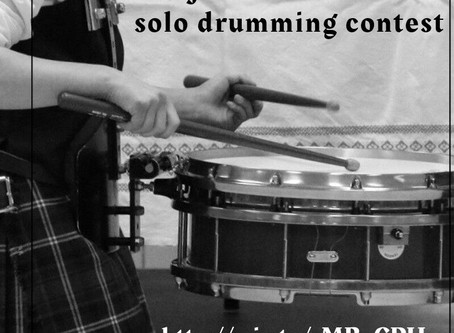 Online Solo Snare Drumming Contest