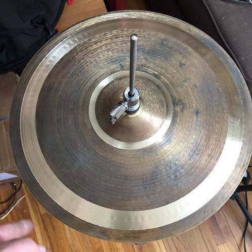 """Cymbalheaven.biz 13.75"""" HHats Patina 708/740g 2021 Patina"""