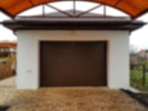 Секционные ворота Alutech