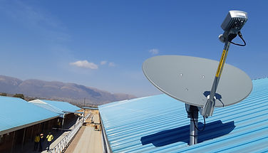 Sandstream Ka-Band Satellite dish