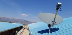 Ka Band satellite dish - Sandstream