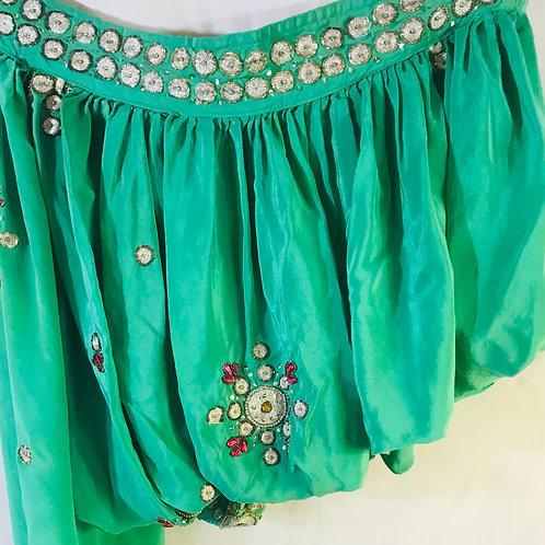 Vintage Saree Top - Size 8