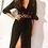 Thumbnail: Black Lace Maxi Gypsy Dress