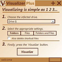 Visualizer Plus UI snapshot