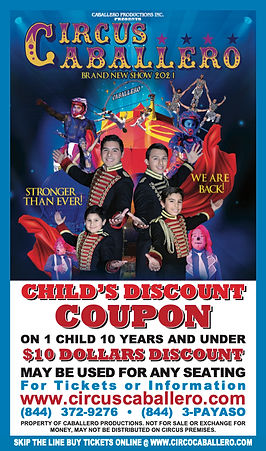 Child Discount Coupon