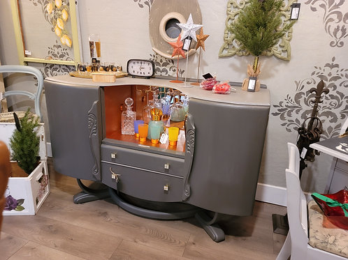 Antique Art Deco Bar Sideboard,  A2