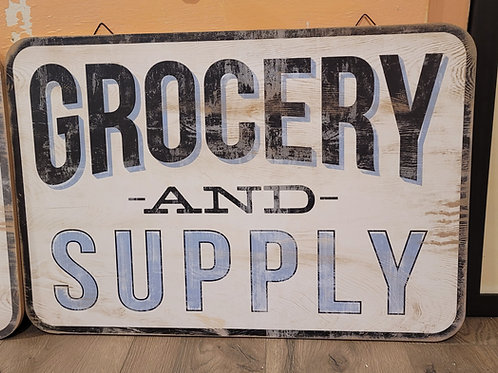 Grocery Sign, A2