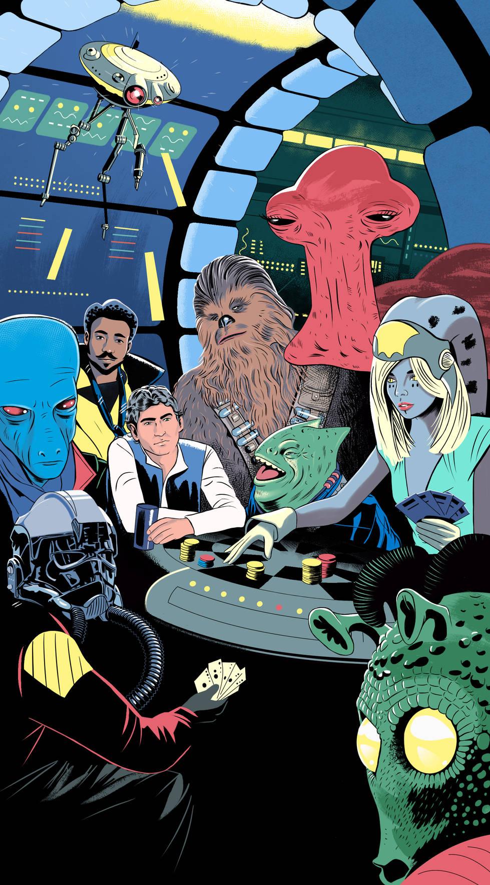 | Solo | a Star Wars Movie Lizt Portrait | Solo | a Star Wars Movie
