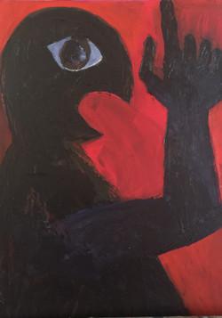 red\black portrait