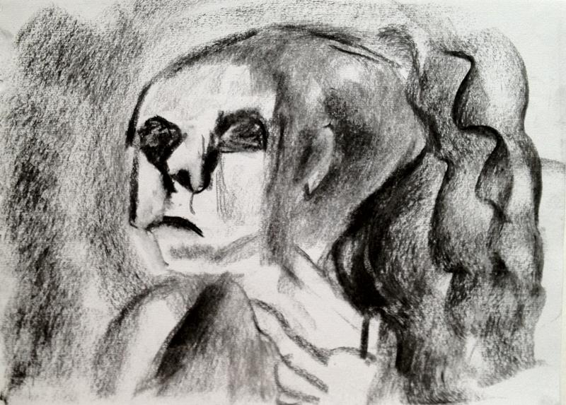 פחם על נייר  2012 014