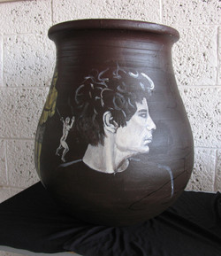painted vase 2012