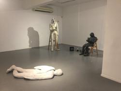 Golem sculpture\sound installation