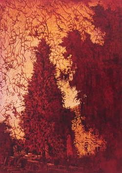 oil on canvas 35x25, VI, 2017