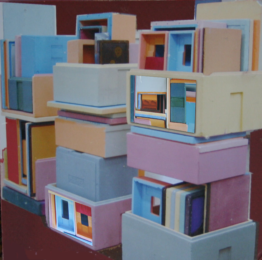 painted styrofoam, 2005