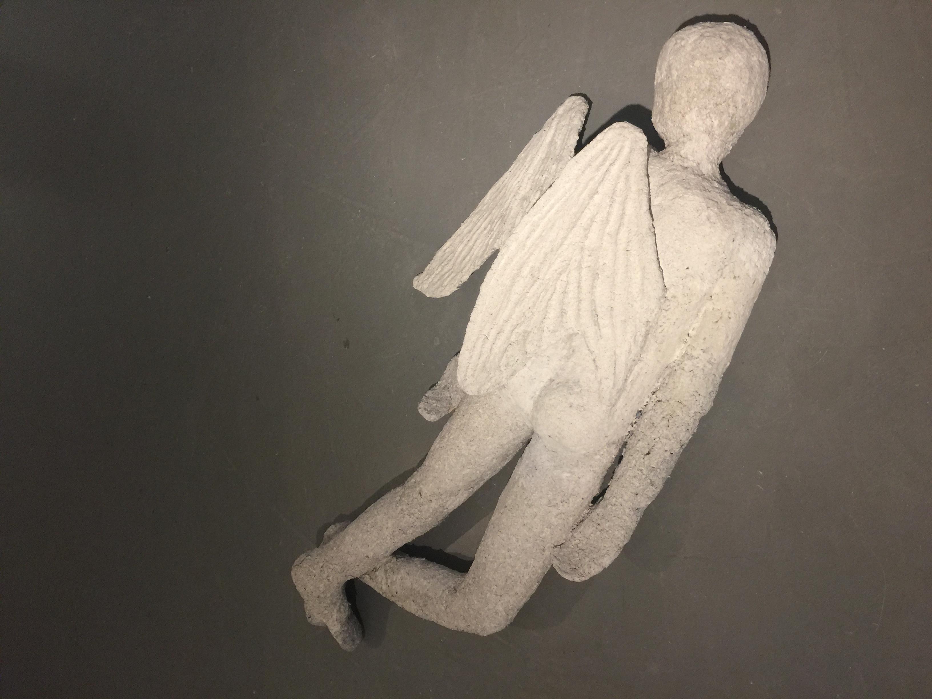 Dead angel - 2016 - papier mache - h