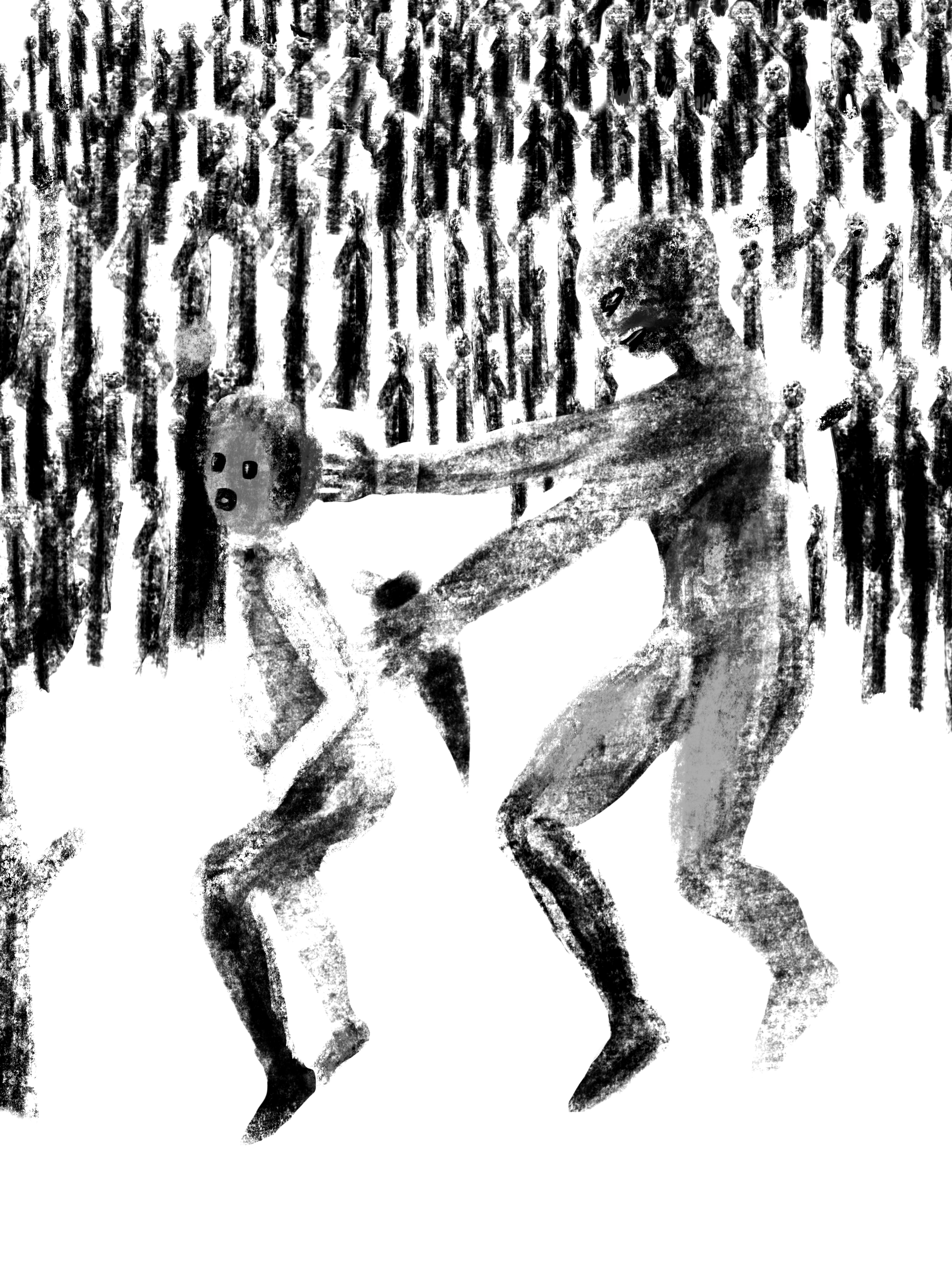 150x200 cm -print- Ipad painting