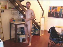 """still of video """"naked men"""" 2008"""
