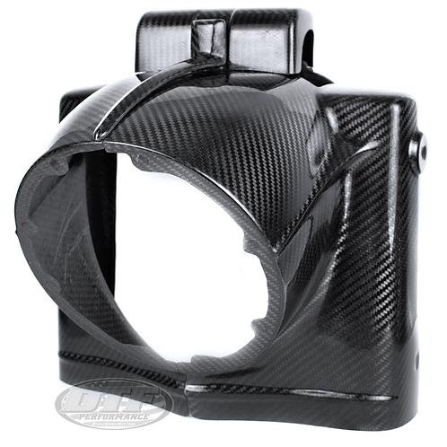 DTF Performance Carbon Fiber Road King Headlight Nacelle
