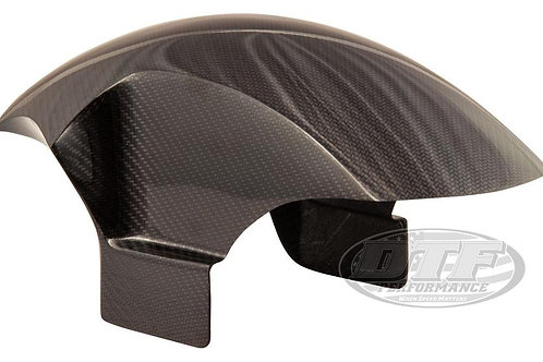 DTF Performance True Carbon Fiber™ BAGGER SPORT FRONT FENDER (19˝ & 21˝ Tires)