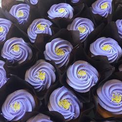Lemon Lavender is bae! #cupcakewars #lemonlavender #cupcakes #foodnetwork #cupcakeshop #lavender #le