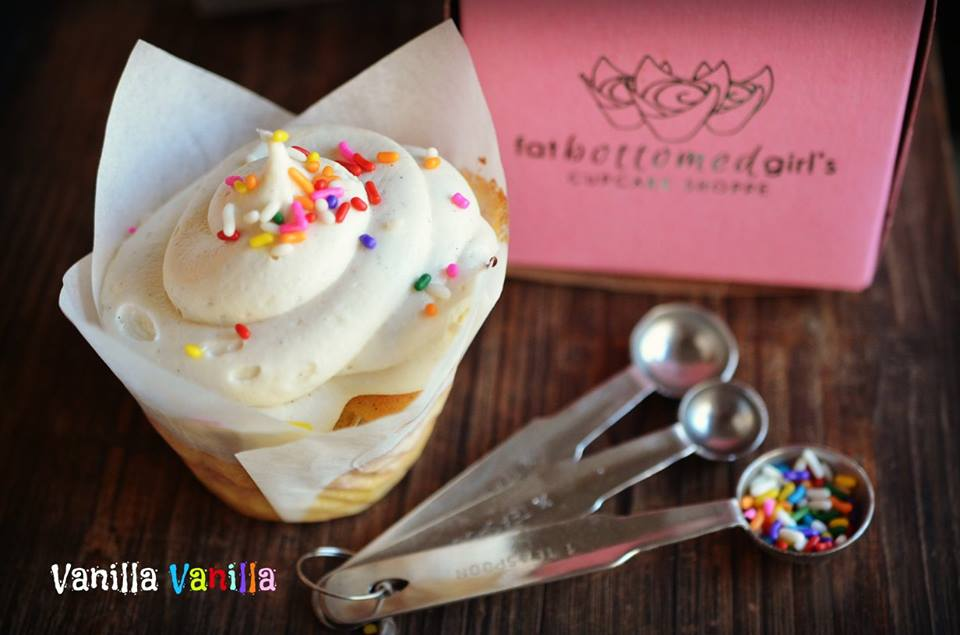Vanilla on Vanilla Cupcake
