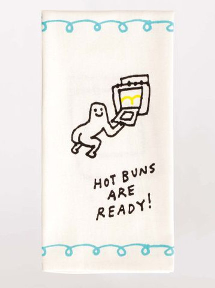Hot Buns Ready Dish Towel