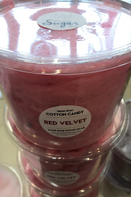 Red Velvet Cotton Candy