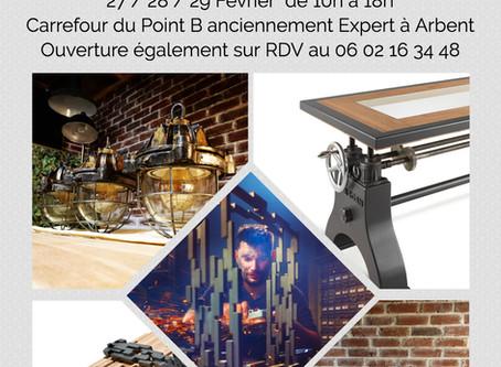 Expo Éphémère le 27 / 28 / 29 Février 2020 à Arbent