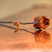 Rose en cuivre