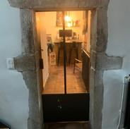 Porte verrière sur mesure Atelier Supersax