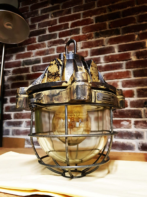 Lampe Mapelec anti déflagration en fonte