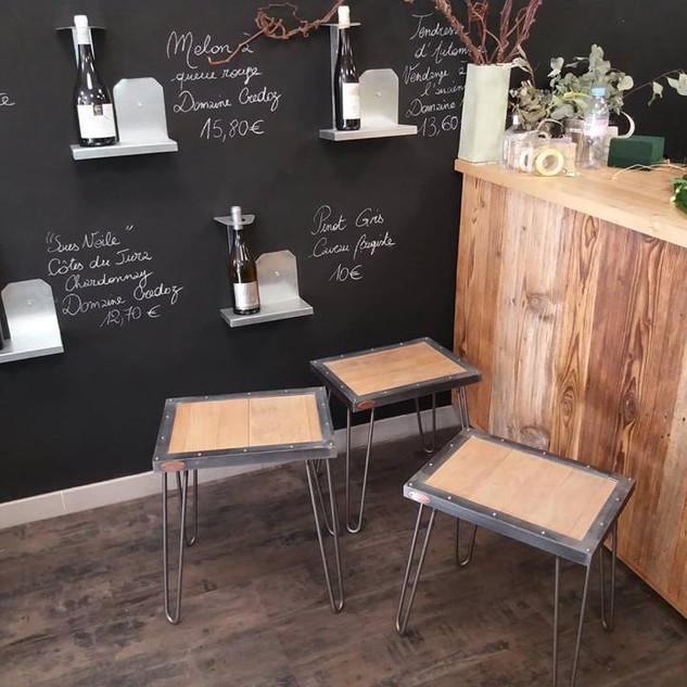 Petites tables modèle Gauthier