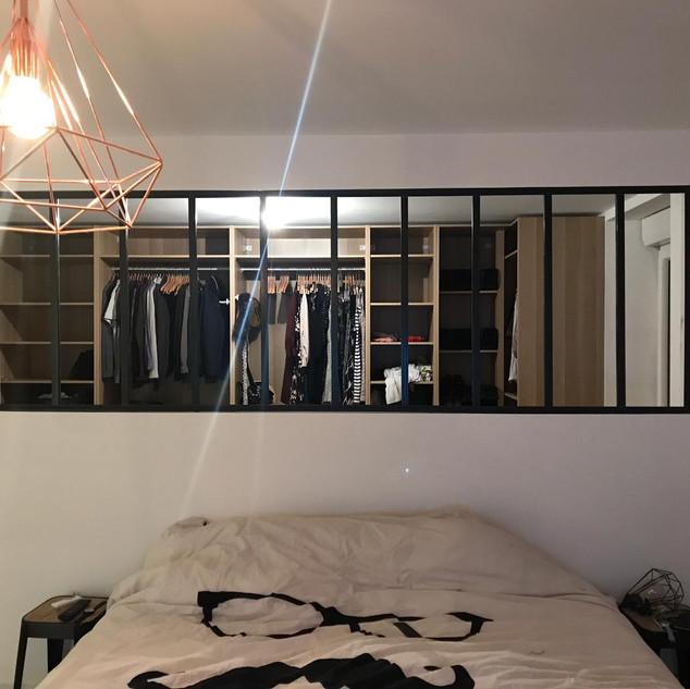 Séparation Chambre / Dressing