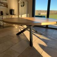 Table chêne sur-mesure Atelier Supersax